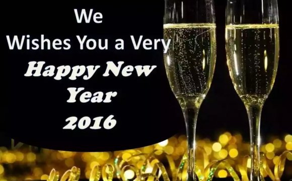 Advance Happy New Year 2016