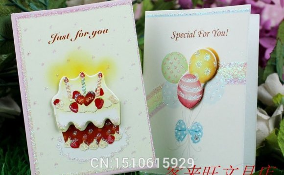 Universal greeting cards