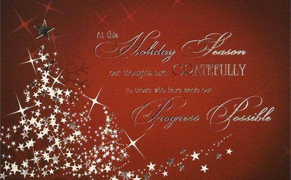 Company Christmas Cards H