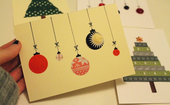 Christmas card diy | by e