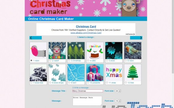 Online-christmas-card-maker