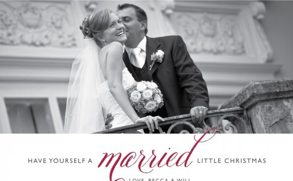 Christmas Cards - married