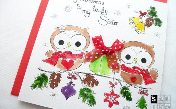 T10 Sister Christmas Handmade