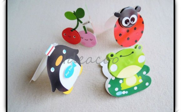14pcs/lot Creative 3D Cartoon