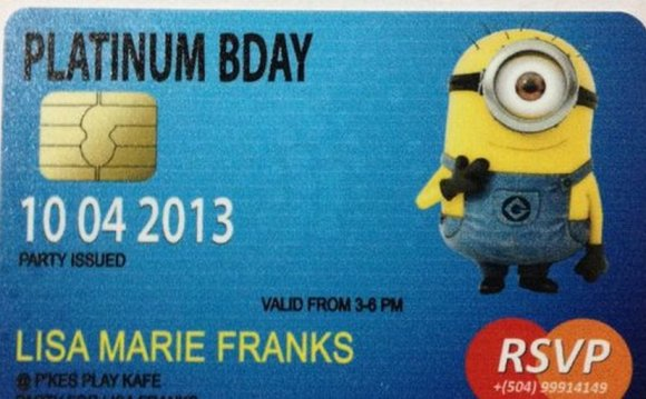 Credit cards with Minions