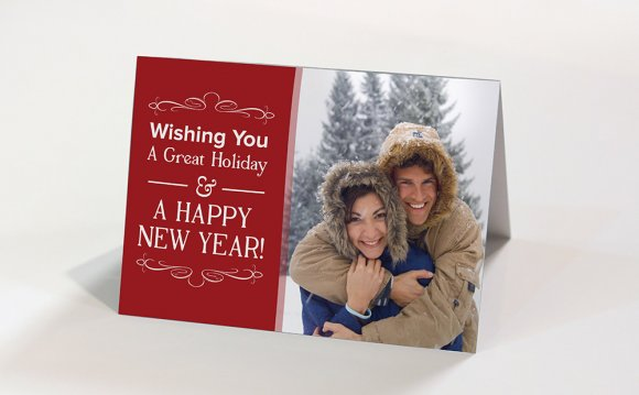 2. Silk Holiday Cards 7x10