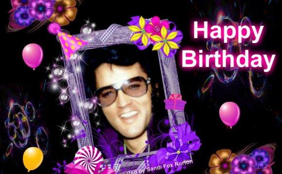 Elvis Presley Virtual Birthday