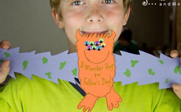 A super cute Father s Day card