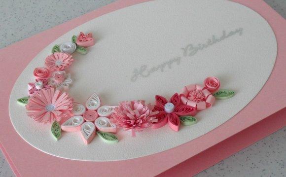 Handmade birthday greeting