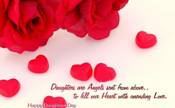 Happy Daughters Day image with