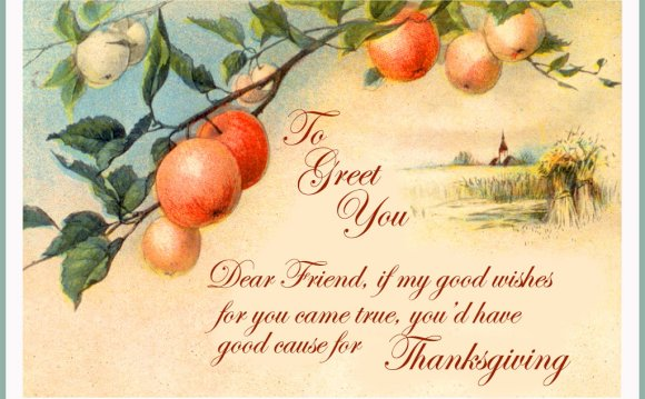 Thanksgiving Greeting Image