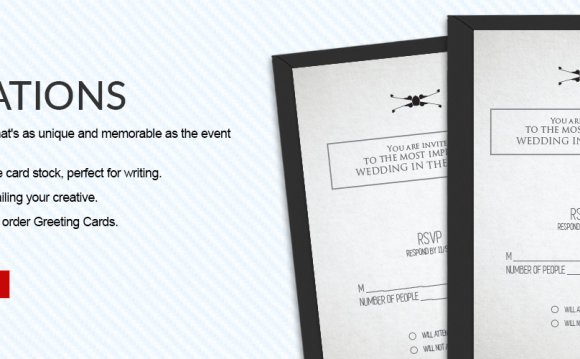 Invitations Printed | Wedding