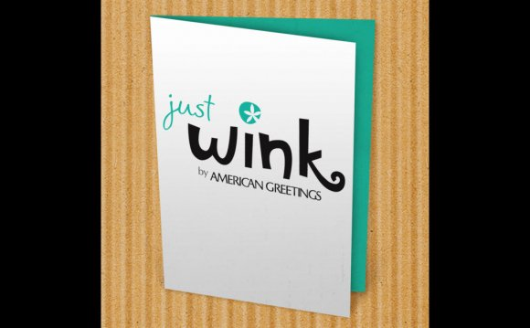 JustWink Greeting Cards on the