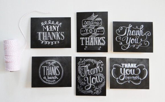 Thank You Card designs in