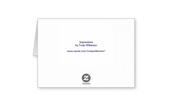 Navy Bridal Thank You Cards