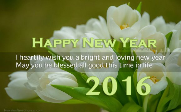New Year 2016 Greeting For