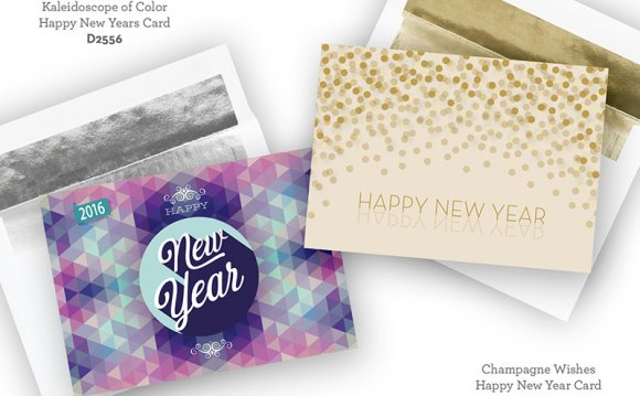 New Years Cards vs Holiday