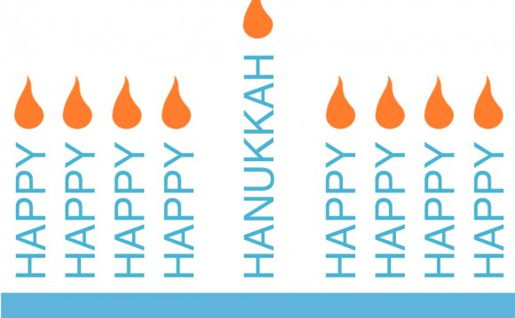 Pages Word Candles Hanukkah