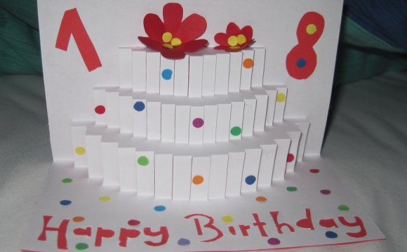 Pop-Up Birthday Card By