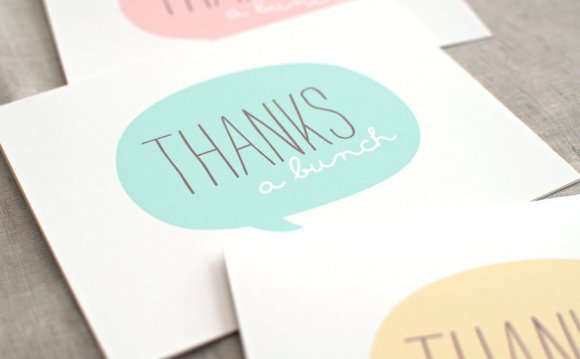 Thank You Cards Set of 6
