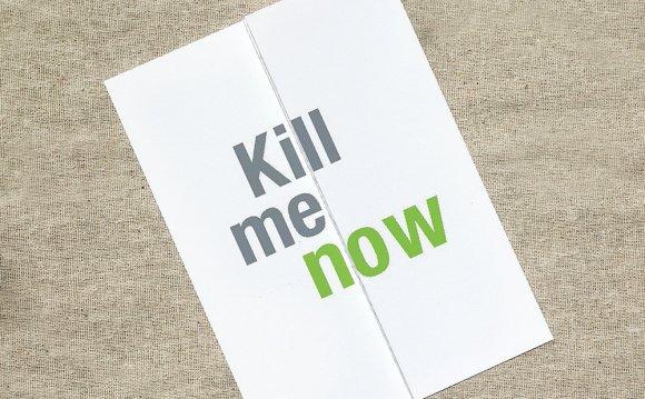 Kill Me Now - Funny Christmas