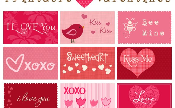 Printable Valentine Greeting