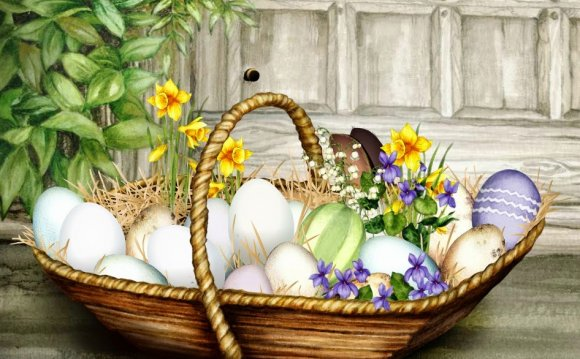 Jacquie Lawson Easter Card