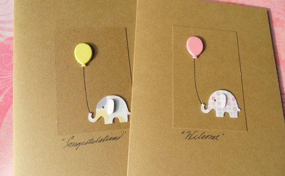 Baby Shower Cards - Baby