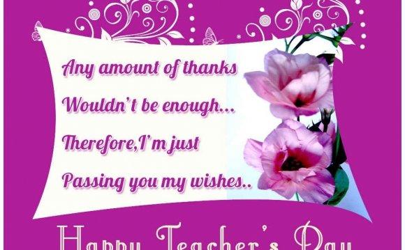 Happy Teacher s Day 5th