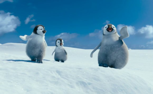 Animated Happy Feet
