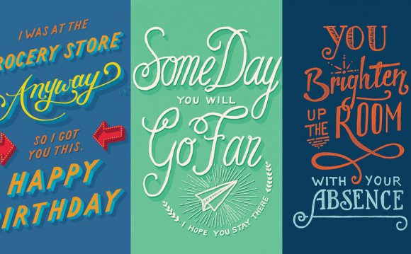 The perfect greeting cards for