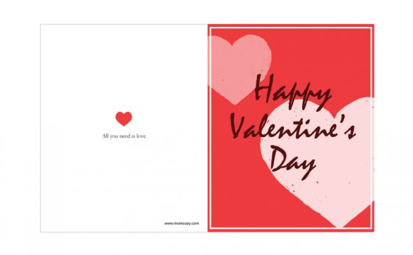 Happy Valentine Cards To Print