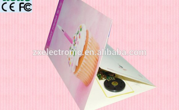 Voice Recording Greeting Cards