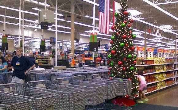 Christmas Comes Early at Wal