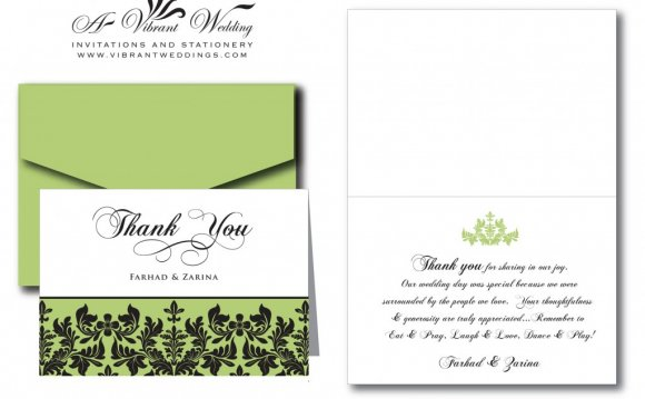 Wedding Invitations And Thank