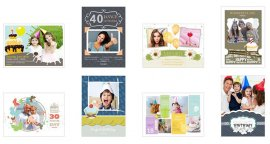 beautiful birthday card samples