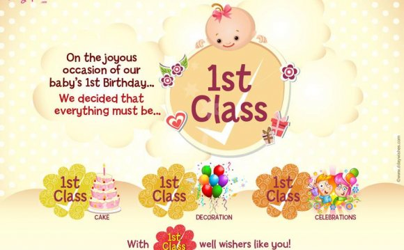First Birthday Greeting cards