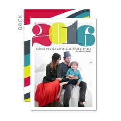 Bold Bunch New Years Cards