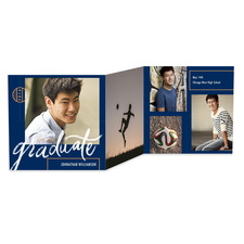 Brush Sleek Graduation Announcements