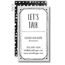 Chatty Charm Business Card