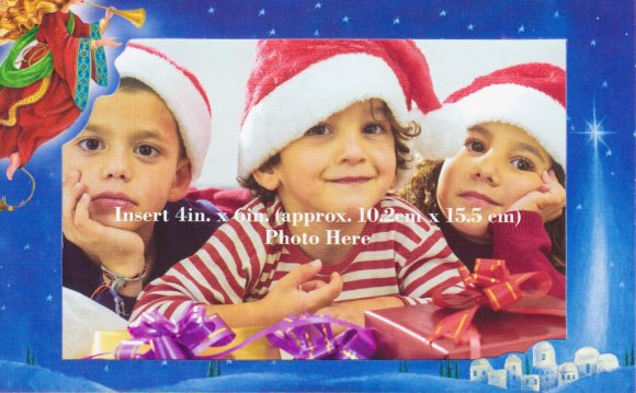Holiday Photo Holder Cards