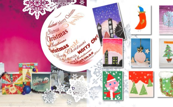 Design own Christmas Cards
