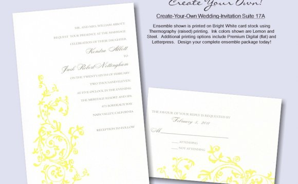 Create your own photo invitations