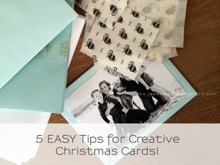 Creative Christmas Card Ideas - Get your holiday cards noticed!