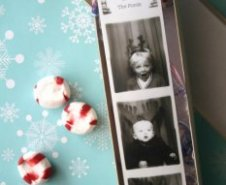 Creative holiday photo cards: Photo booth style by Simply Radiant