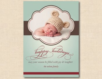 Cute Baby Holiday Card Ideas