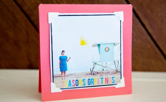 DIY Photo greeting cards