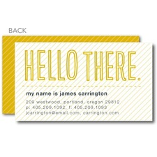 Eye Catching Intro Business Card