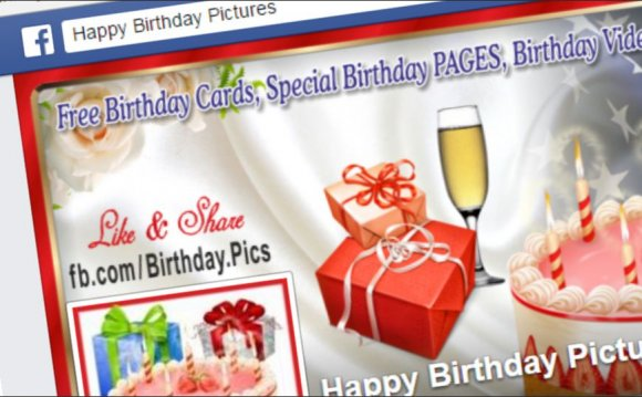 Sending Birthday Cards on Facebook