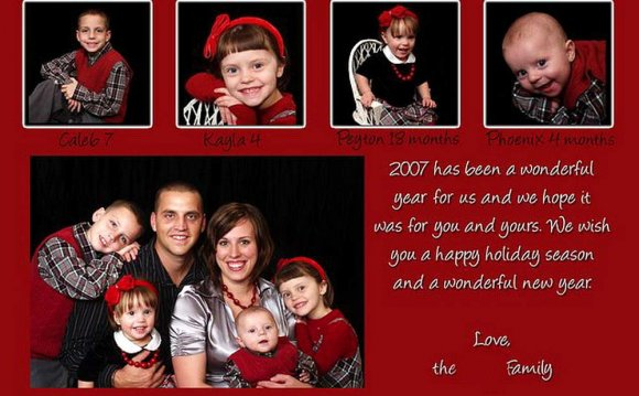 Christmas cards Greetings for family